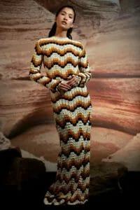Vestido tejido de Escvdo.