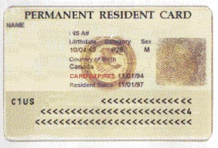 Nota sobre cómo renovar tarjeta de residencia permanente en los Estados Unidos. La imagen es ilustrativa.